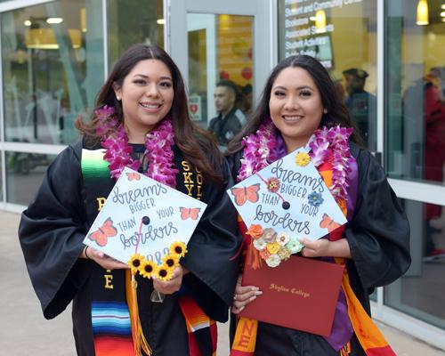 Skyline College graduates