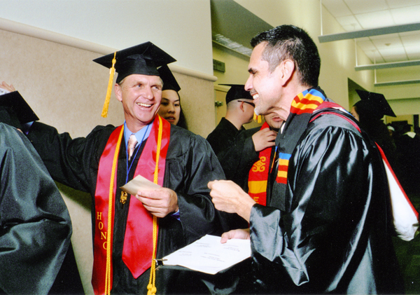 Skyline College graduation ceremony