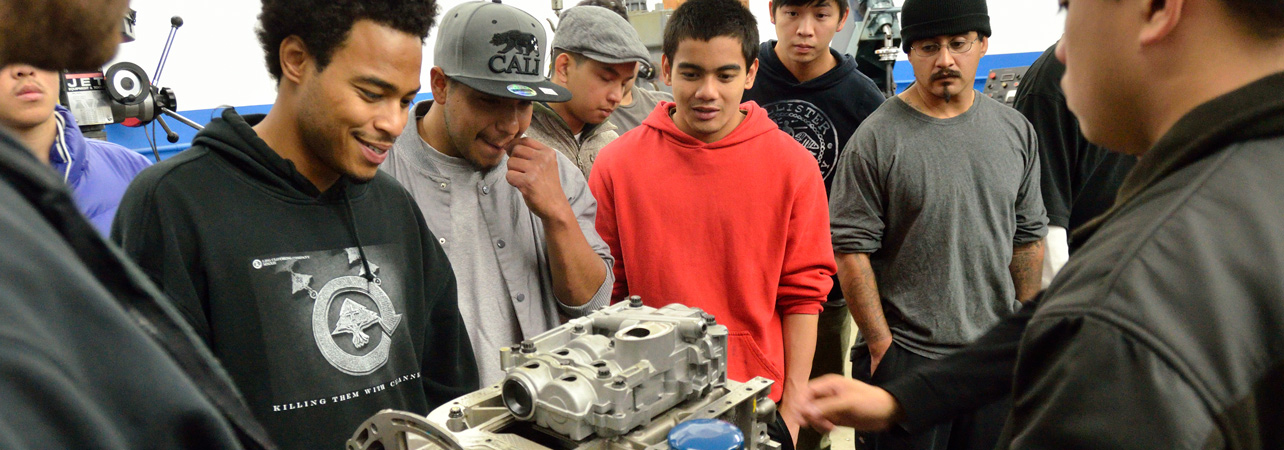 automotive students